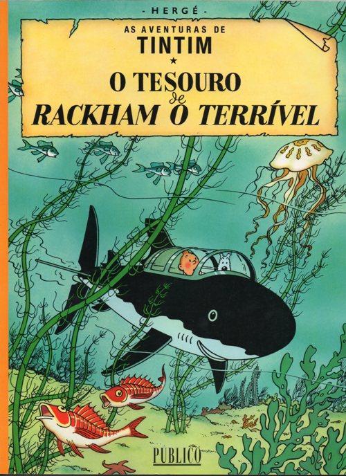 TINTIN - 12 . TESOURO DE RACKHAM O TERRÍVEL (O)