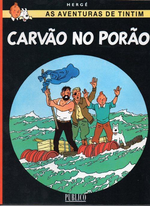 TINTIN - 19 . CARVÃO NO PORÃO