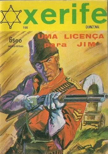JIM CANADA - 32 . LICENÇA PARA MATAR (UMA)