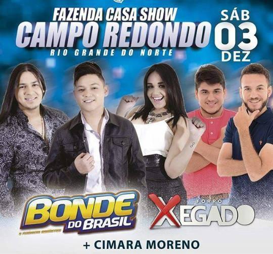 BONDE DO BRASIL EM CAMPO REDONDO