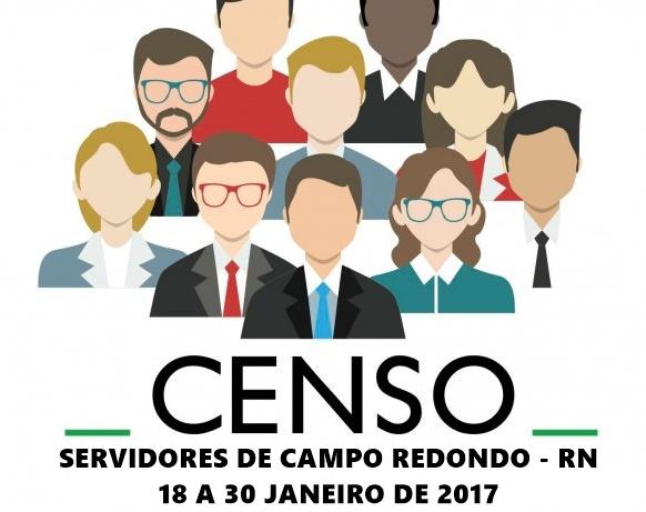 CENSO DOS SERVIDORES DE CAMPO REDONDO