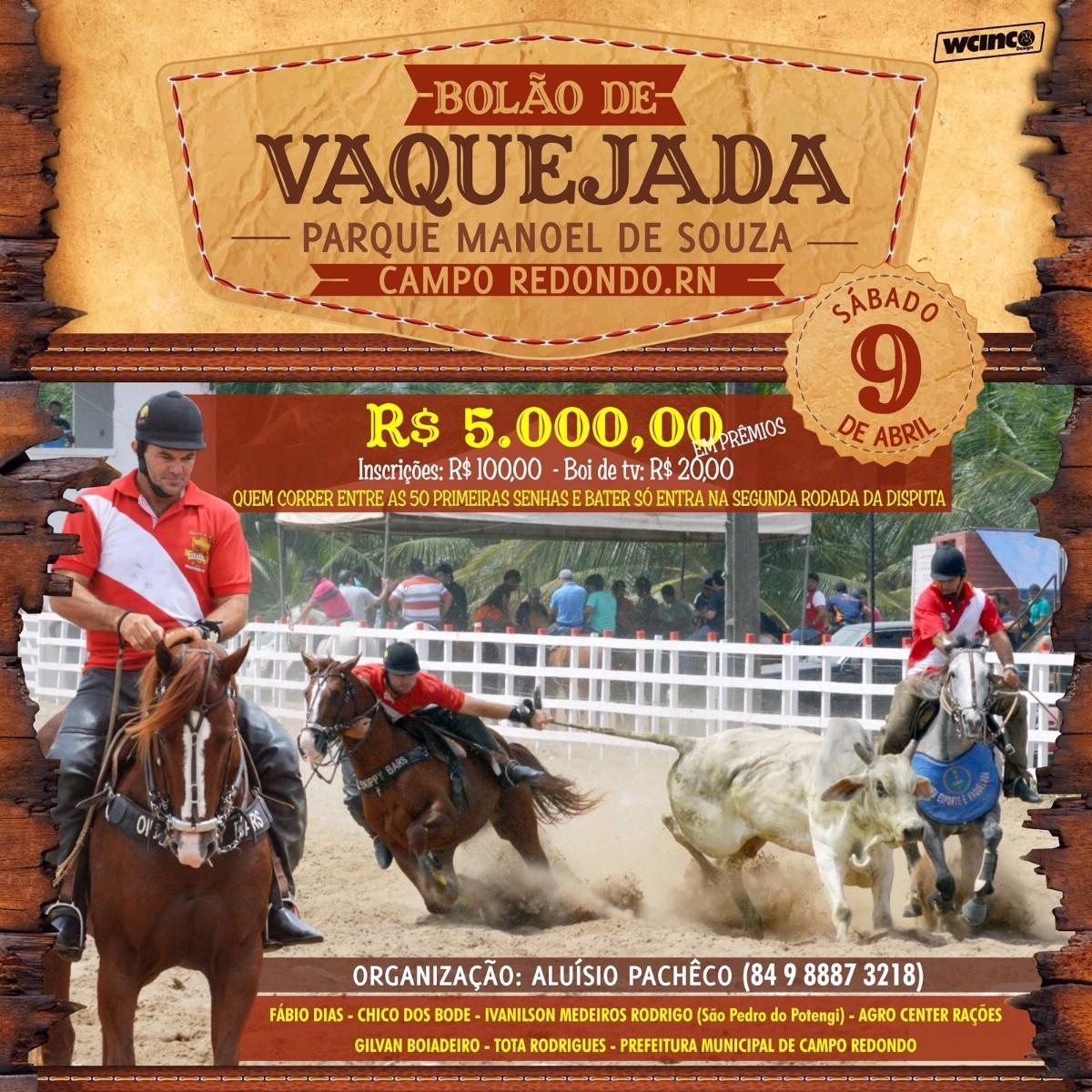 BOLÃO DE VAQUEJADA
