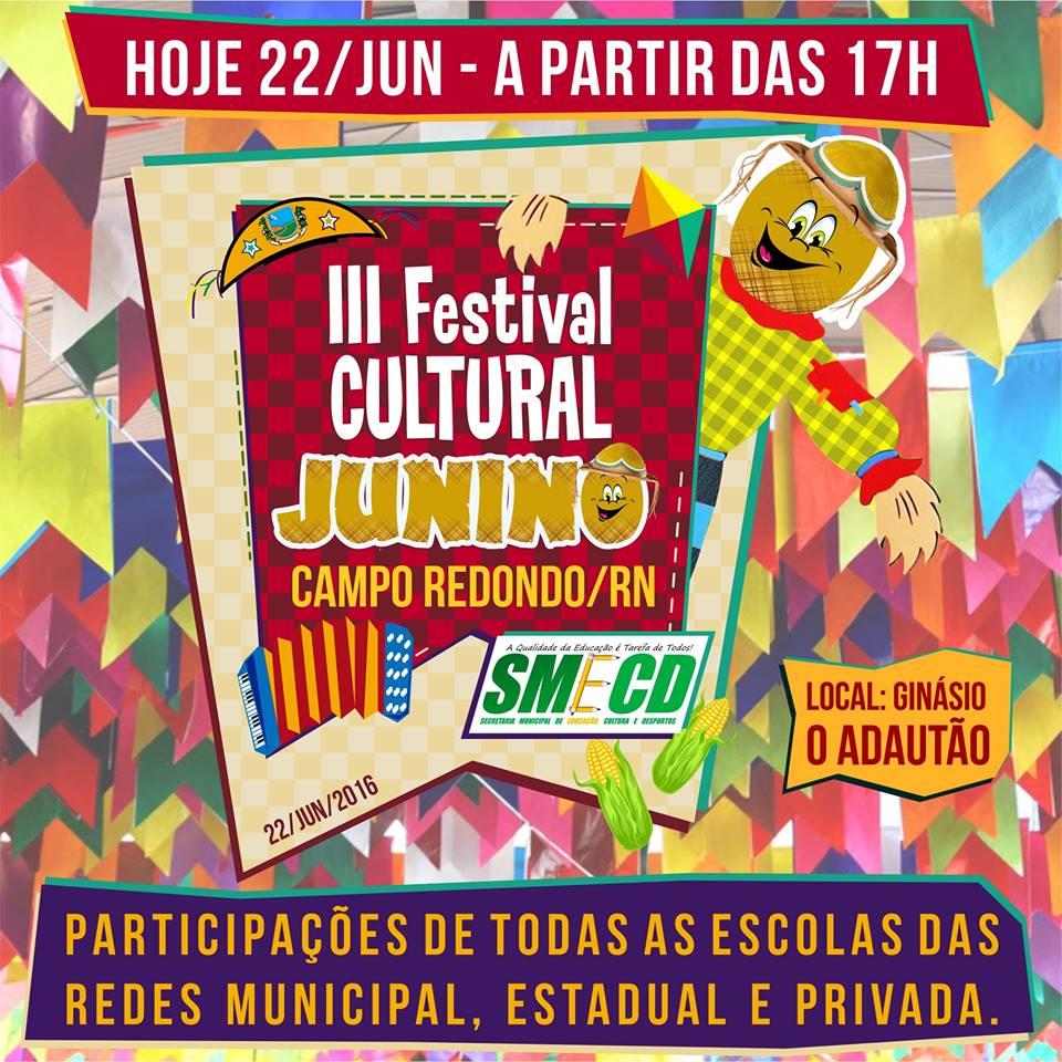 FESTIVAL CULTURAL JUNINO
