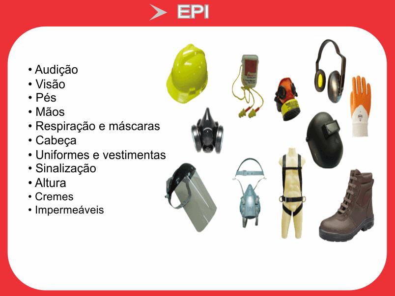 EPI (EQUIPAMENTOS DE SEGURANÇA)