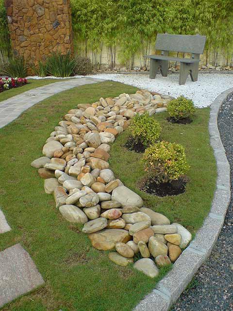 pedra jardim caminho