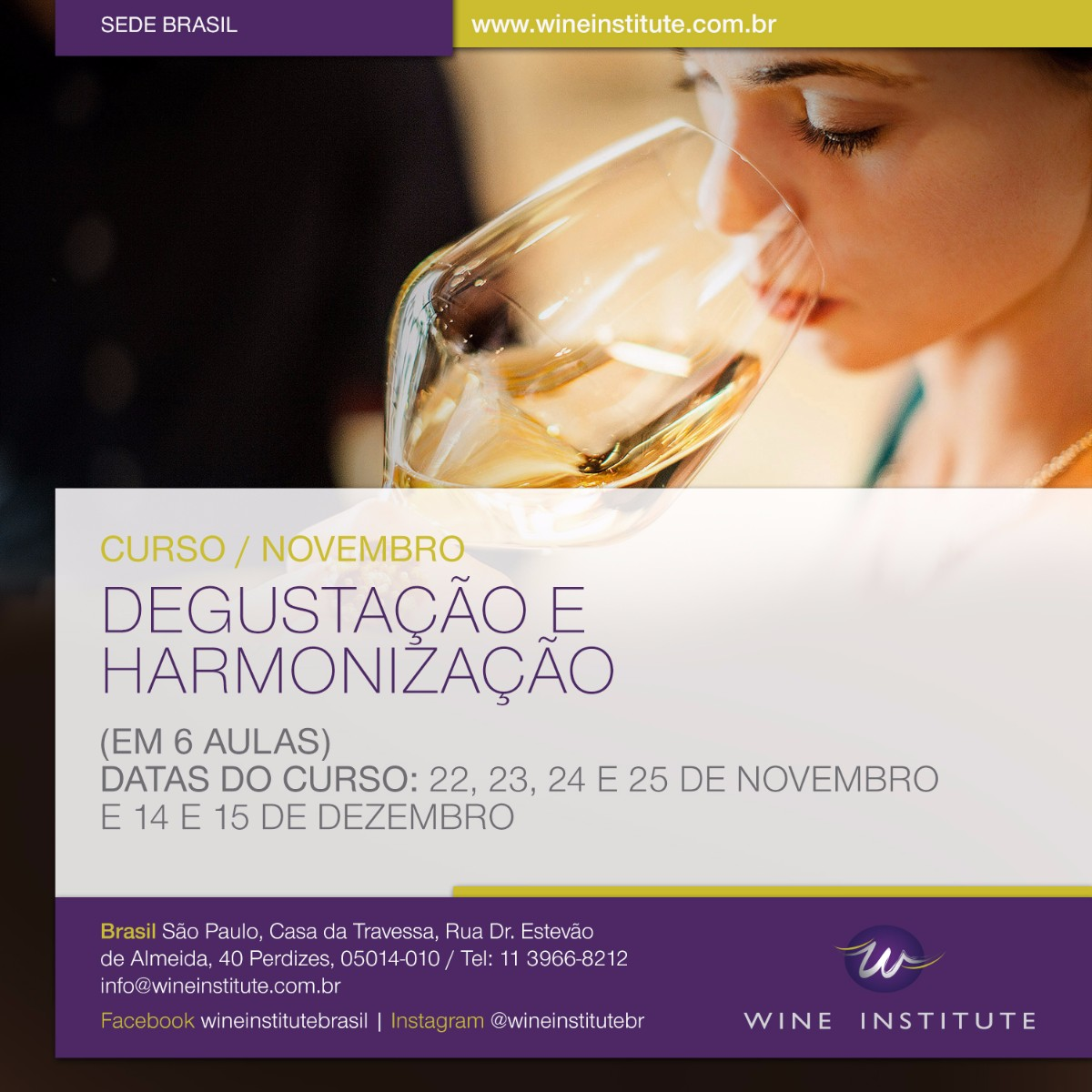 Curso Wine Institute Brasil