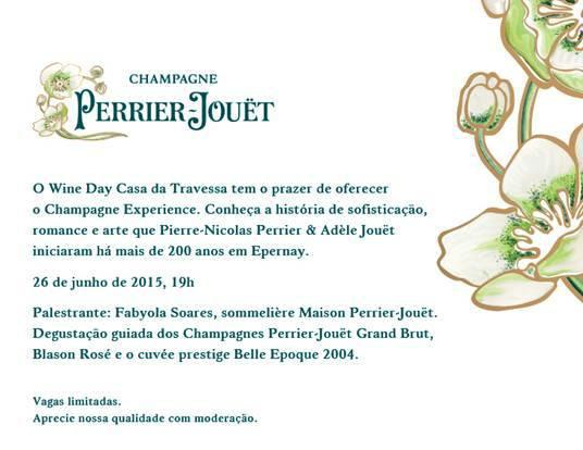 Convite Champagne