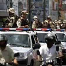 Policiais militares em greve
