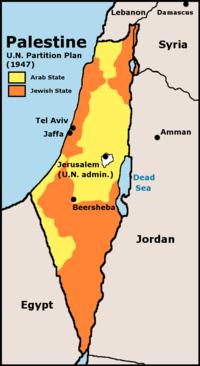 mapa de partilha da ONU res. i81