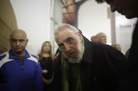 Fidel Castro, 87 anos em visita a Museu em Cuba