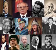 Alguns líderes mundiais, outros apenas locais