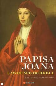 Capa do livro de Lawrence Durrell - A papisa Joana