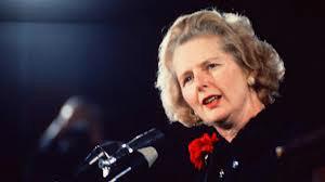 Thatcher no auge da carreira