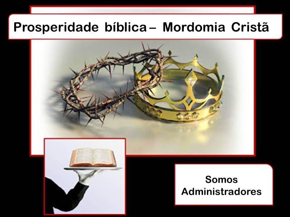 Properidade Mordomia cristã