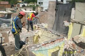 Demolição manual