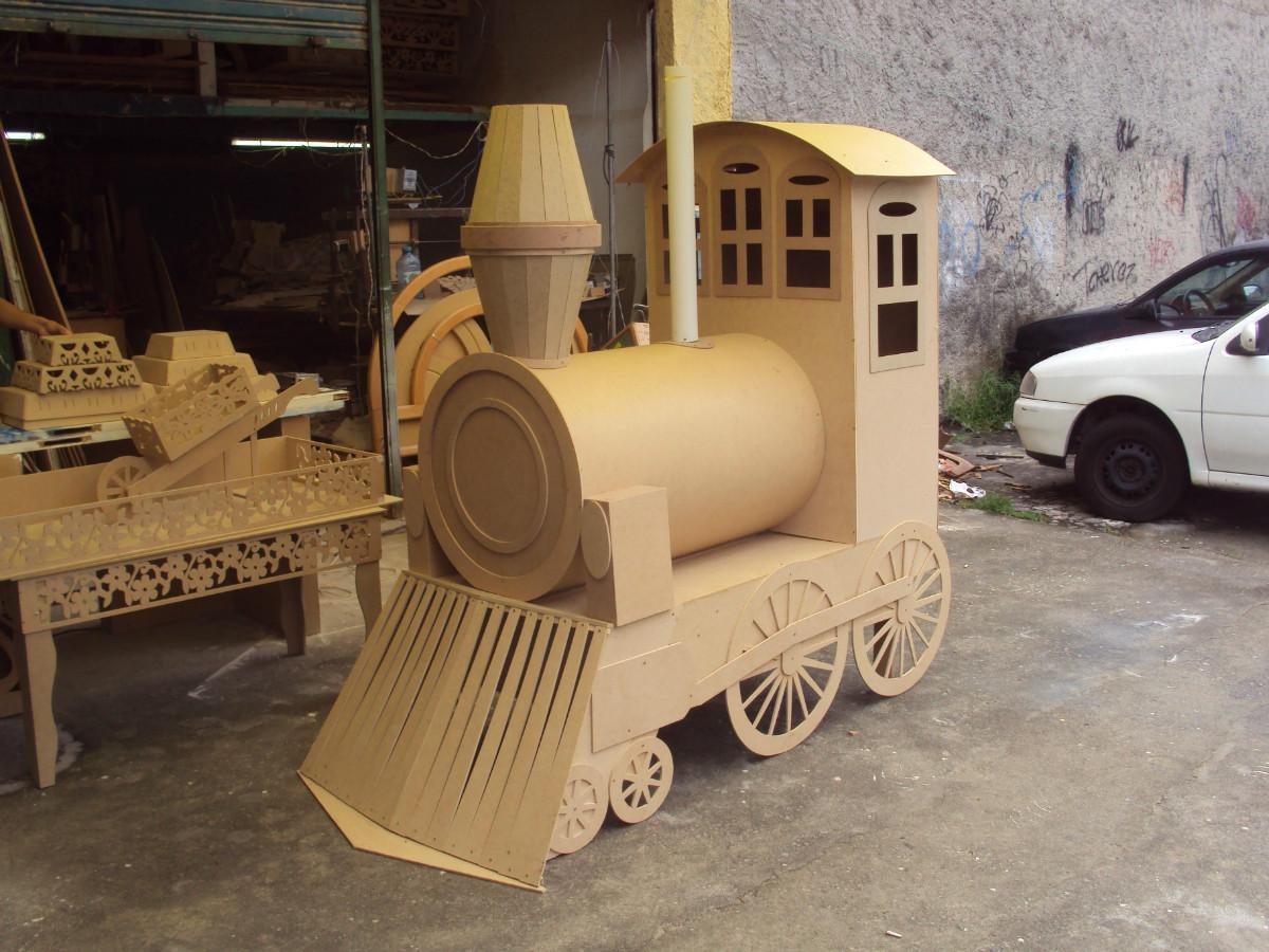 Locomotiva para Faber Castell