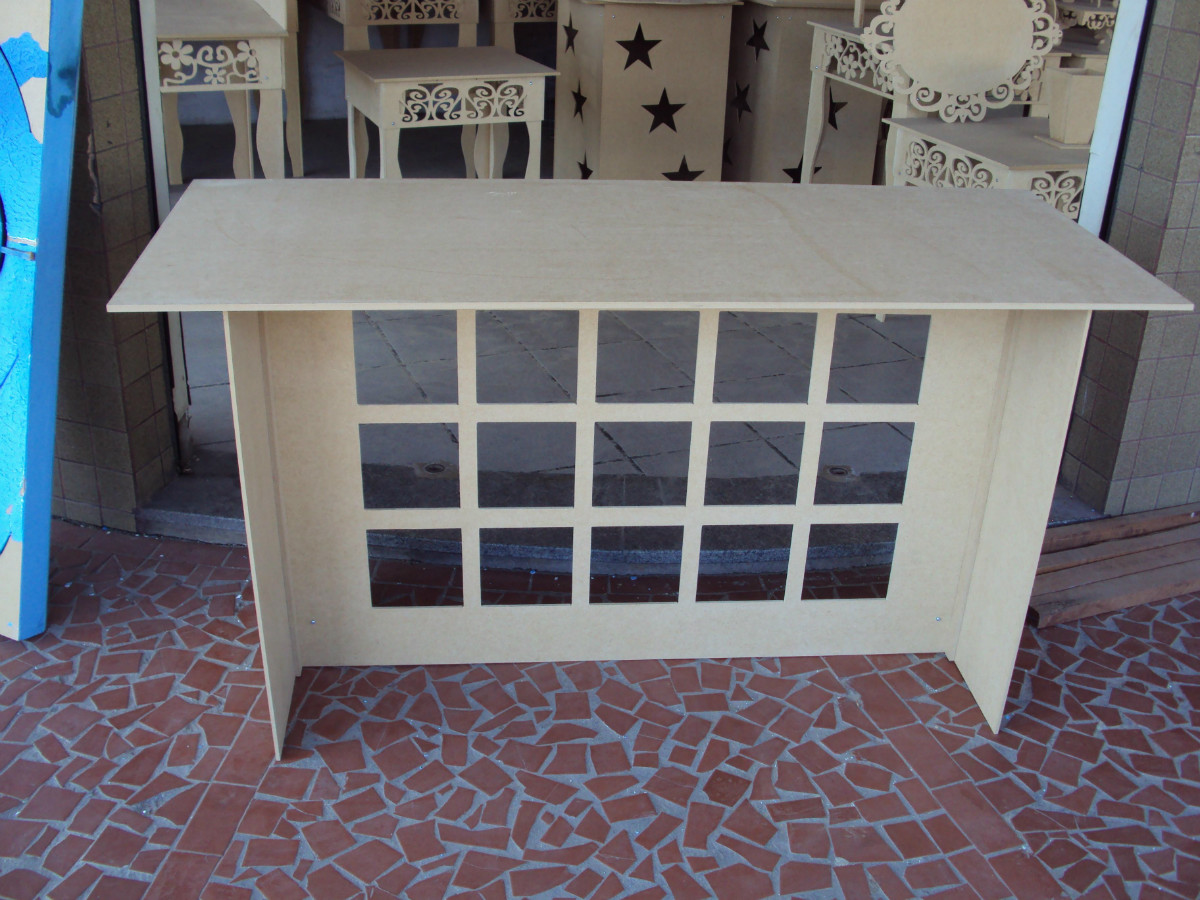 mesa colmeia simples