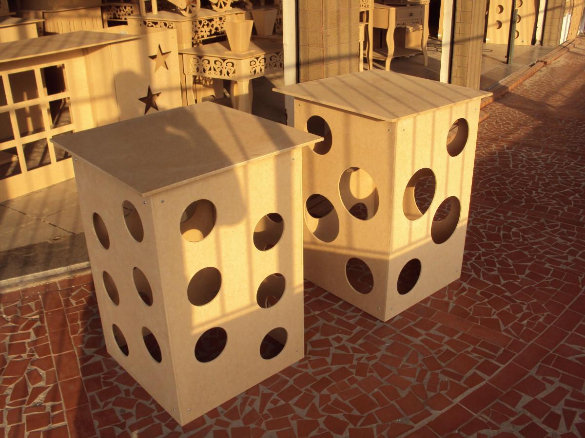 mesa cubo esfera