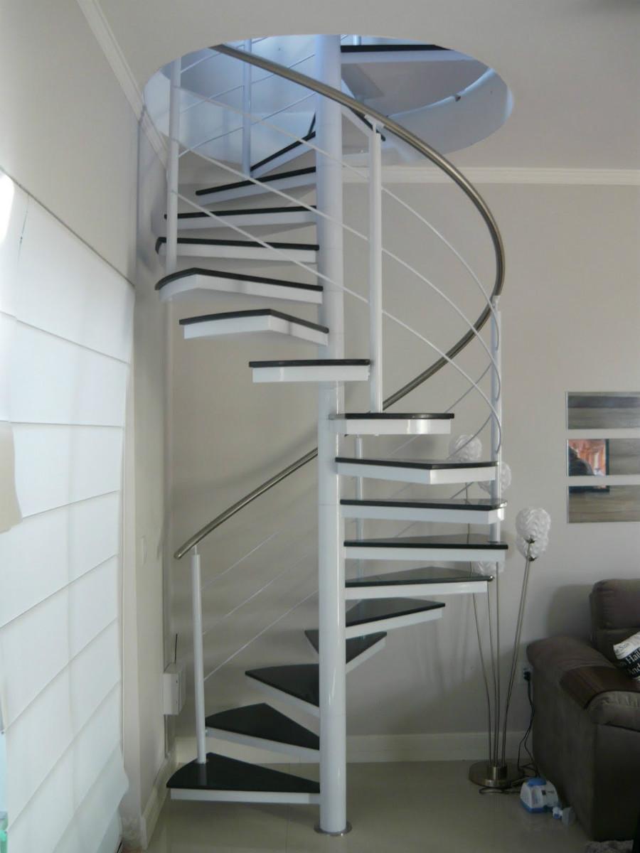 Escadas Caracol de Ferro Escadas Caracol