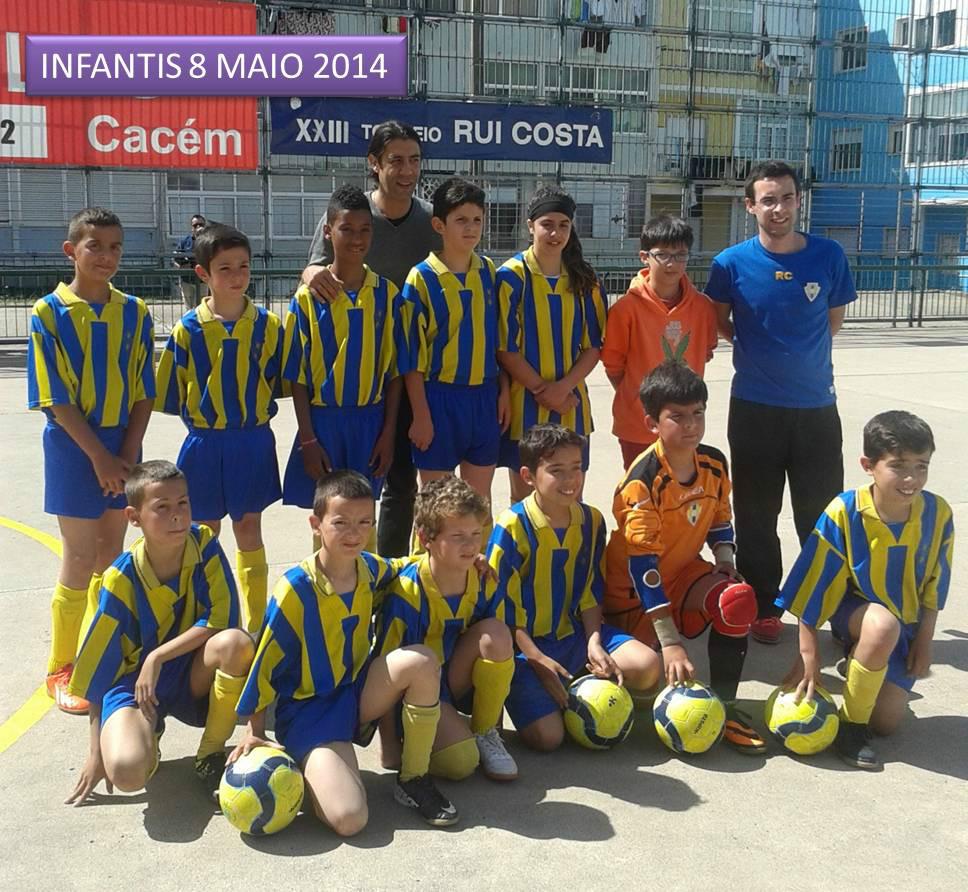 infantis.Torneio Rui Costa 2014