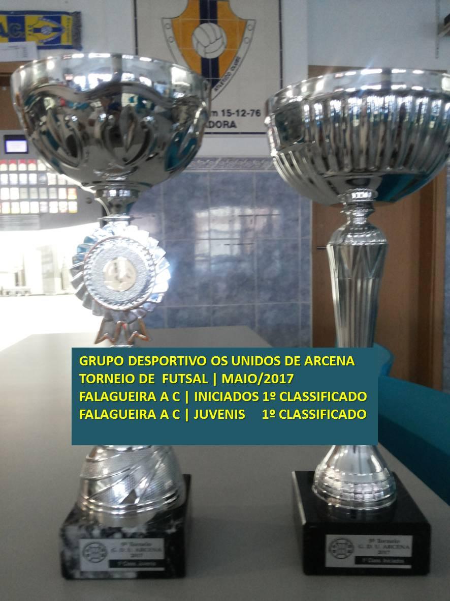 Torneio particular G D U Arcen maio 2017