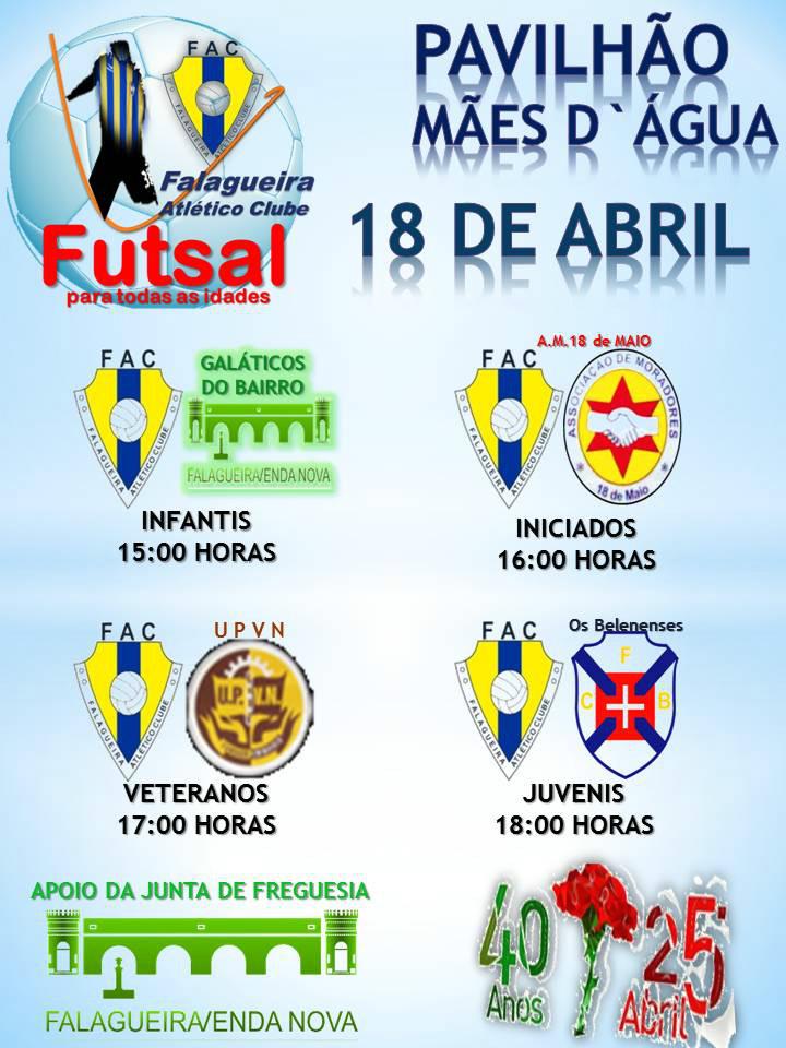 Futsal 18 abril 2014