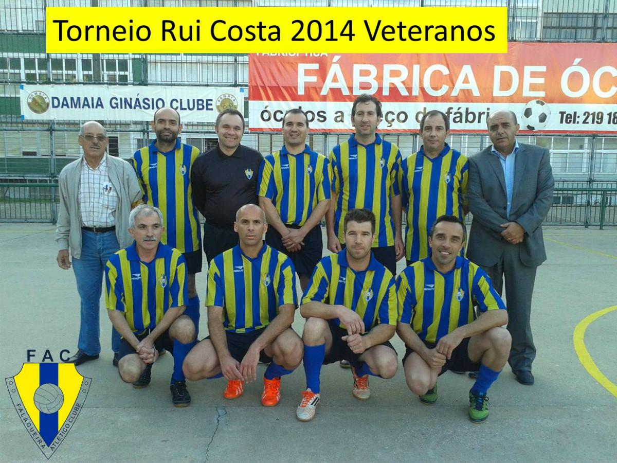 Veteranos.Torneio Rui Costa 2014
