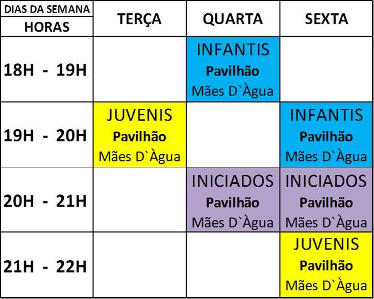 Treinos Futsal/ Pav. Maes D´água 2015/16