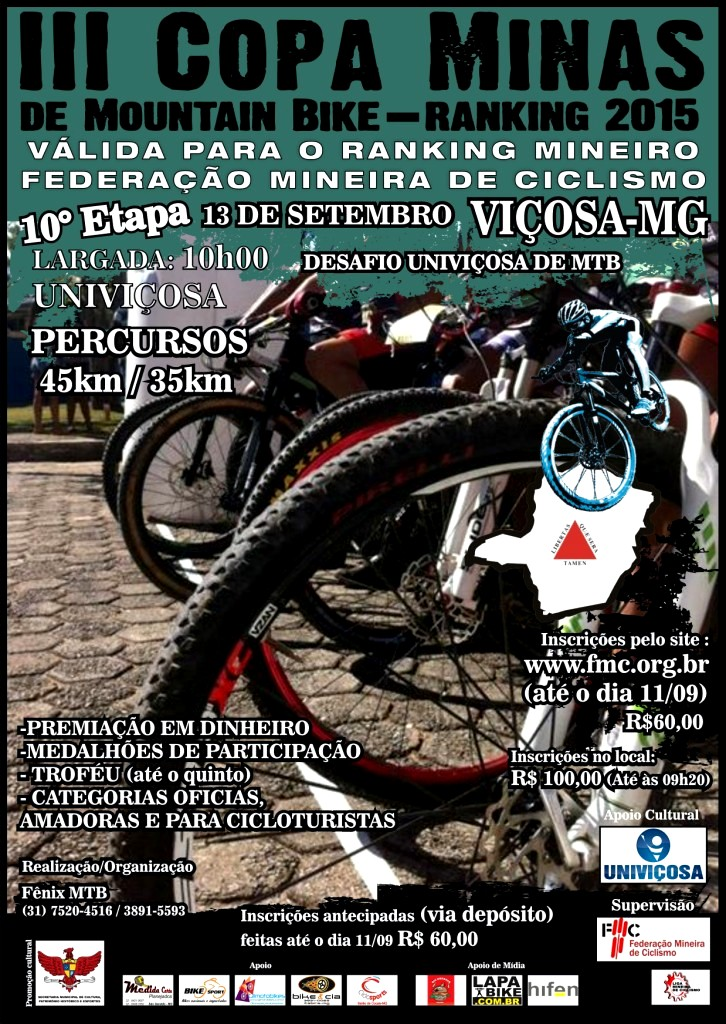 COPA MINAS DE MOUNTAIN BIKE 2015