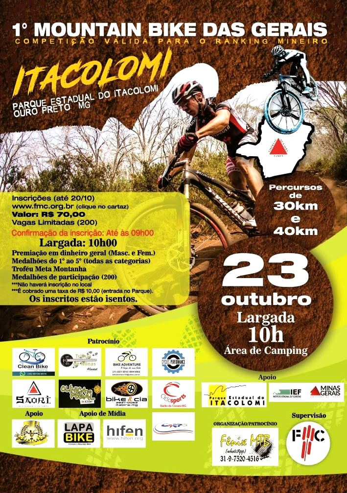 I MOUNTAIN BIKE DAS GERAIS ITACOLOMI