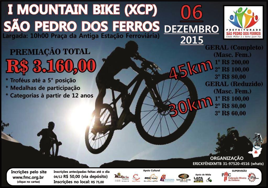 1° Mountain Bike XCP de São Pedro dos Ferros 2015