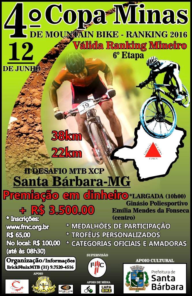 COPA MINAS DE MTB 2016