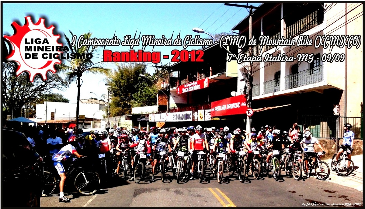 I maratona mountain bike de Itabira-MG