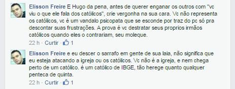 resposta ao Hugo