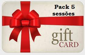Pack 5 sessões
