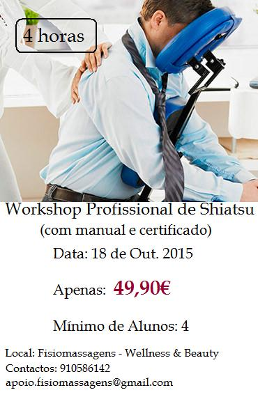 Workshop de Massagem de Shiatsu