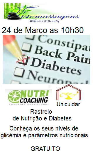 Rastreio de Nutrição e Diabetes