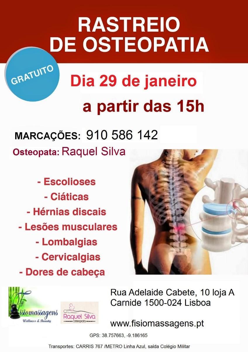 Rastreio de Osteopatia