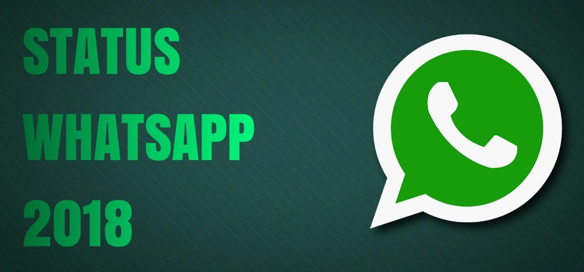 Status WhatsApp 2018
