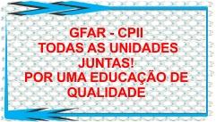 GFAR-CPII TODAS AS UNIDADES JUNTAS!