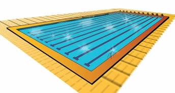 Como melhor a pratica da nata o for Medidas piscina semiolimpica