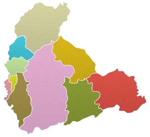 Mapa Alto Tietê