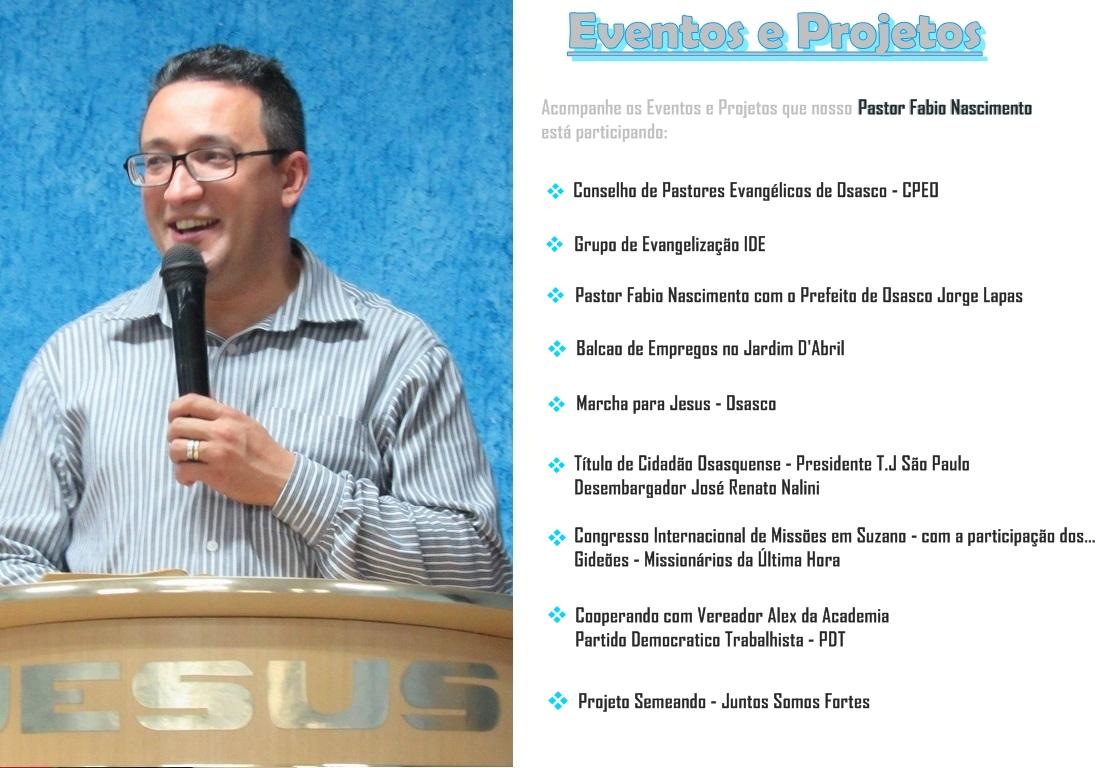 eventos e projetos
