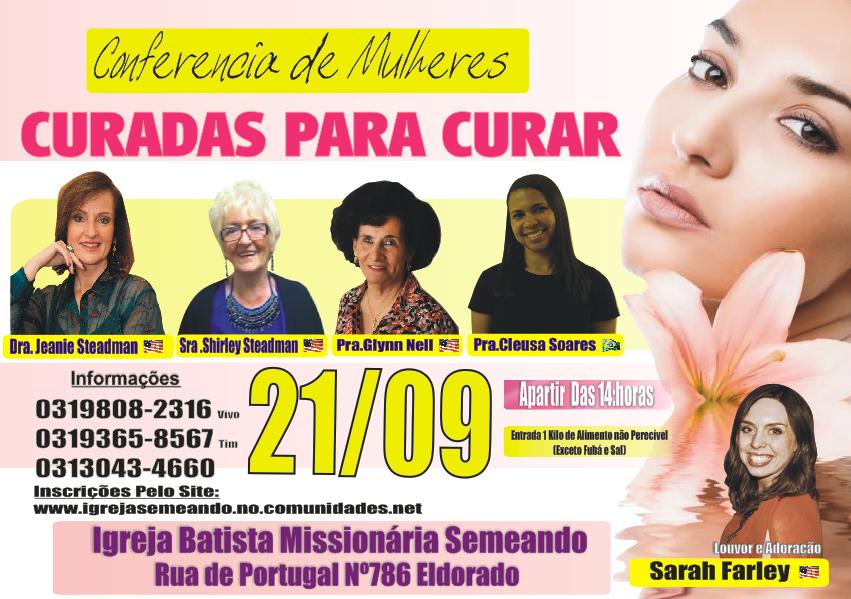 Congresso de Mulheres Curadas para Curar 2013