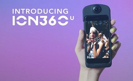 """Tecnologia: Conheça """"ION360"""" uma mistura de case com bateria e câmera que grava vídeos 4K em 360°"""