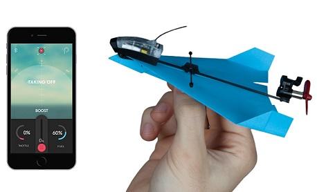 """Tecnologia: Conheça """"Powerup Dart"""" um drone de papel que faz acrobacias e pode ser controlado pelo smart"""