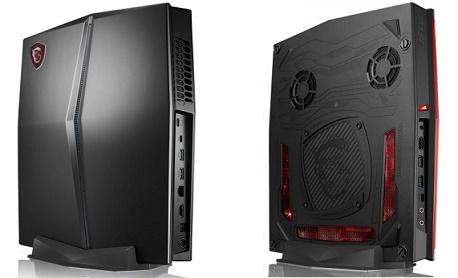 """Tecnologia: Tecnologia: MSI lançou """"Vortex G25"""" um PC gamer fino que chega com Core i7 e Nvidia GTX 1070"""