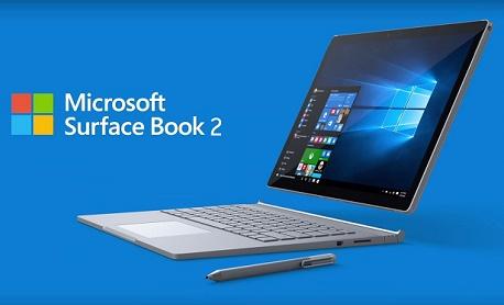 """Tecnologia: Microsoft lançou """"Surface Book 2"""" com mais potência e opção com tela de 13' e 15'"""