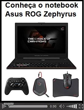 """Conheça """"Asus ROG Zephyrus"""" notebook que traz uma GTX 1080 e somente 16,9 mm de espessura"""