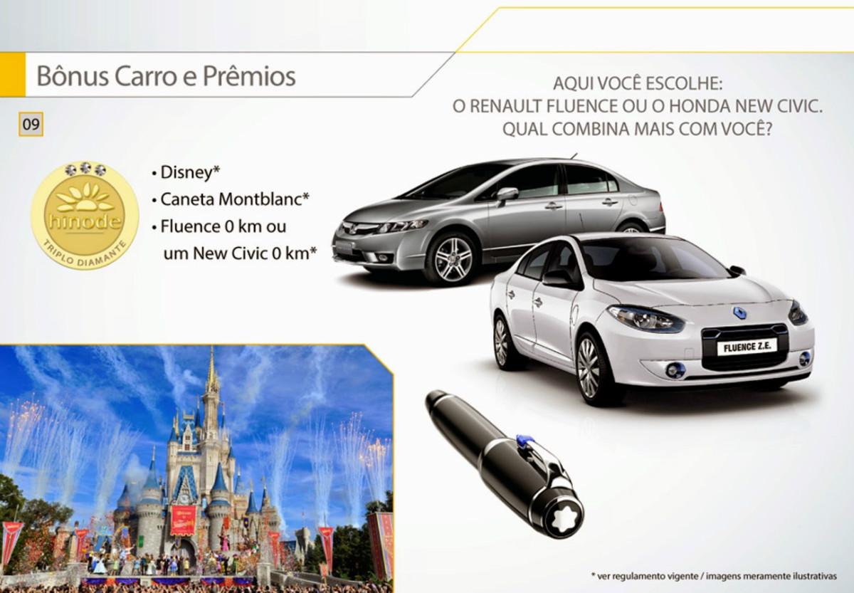 Apresentação Hinode bonus carro e premios faça seu cadastro Hinode no ID 854605